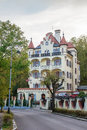 Spa hotel in karlovy vary one of czech republic Stock Photography