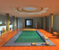 Spa interior Royalty Free Stock Images