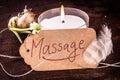 Spa massage concept Royalty Free Stock Photo