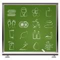 Spa objects icons Royalty Free Stock Photo