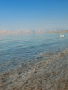 Spa resort of the dead sea at ein gedi israel Stock Photo