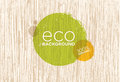 Spa Retreat Organic Eco Background. Nature Friendly Vector Concept Royalty Free Stock Photo