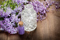 Spa still life - aromatherapy Stock Images
