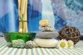 Spa stones Royalty Free Stock Photo
