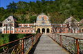 Austrian Imperial Baths from Baile Herculane, Romania. Royalty Free Stock Photo