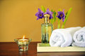 Spa treatment Stock Image