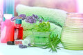 Spa treatment aromatherapy is ready to use Stock Image