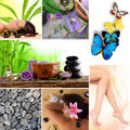 Spa wellness and relax collection Stock Photo
