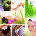 Spa wellness and relax collection Royalty Free Stock Image