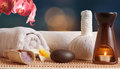 Spa wellness still life Royalty Free Stock Photo