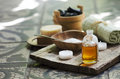 Spa and wellness still life Royalty Free Stock Photo