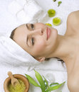 Spa Woman Stock Photography