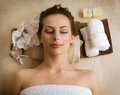 Spa Woman Royalty Free Stock Photography