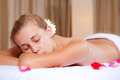 Spa woman Royalty Free Stock Photos