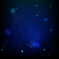 Space abstract star field. EPS 10 Royalty Free Stock Photo