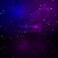 Space background. Nebulas and shining stars. Vector illustration