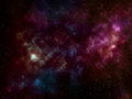 Space Background With Stars An...