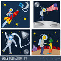 Space collection 4 Royalty Free Stock Photo