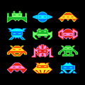 Space invaders Royalty Free Stock Photos