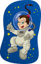 Space Kid #2 Stock Image