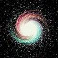 Space, milkway, starburst texture