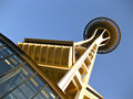 Space Needle in Seattle Royalty Free Stock Photo