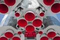 Space rocket engine Royalty Free Stock Photo