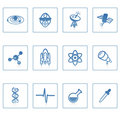 Space and Science icon I Stock Image