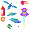 Space ships Royalty Free Stock Image