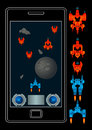 Space shooter mobile