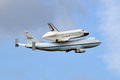 Space Shuttle Enterprise Stock Image