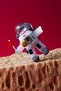 Spaceman Explores Mars. Light ...