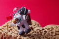 Spaceman Explores Red Planet M...