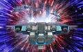Spaceship and warp drive