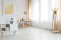 Loft with dining room Royalty Free Stock Photo