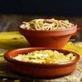 Spaghetti alla carbonara Royalty Free Stock Photo