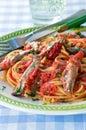 Spaghetti Pasta Recipes, Pasta Dishes Royalty Free Stock Photo