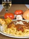 Špagety omáčka