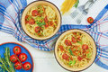 Spaghetti with vegetables Royalty Free Stock Photo