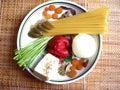 Spaguetti dish Royalty Free Stock Photo