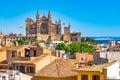Spain Palma de Majorca Cathedral La Seu Royalty Free Stock Photo