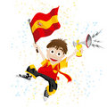 Spain Sport Fan Royalty Free Stock Images