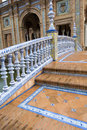 Spain Square in Seville Stock Image