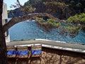 Spain 2019 summertime Costa Brava great sea vieuw Royalty Free Stock Photo