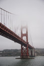 Span of Golden Gate Bridge, San Francisco Royalty Free Stock Photo