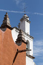 Spanish architectural details in mexico Royalty Free Stock Photo