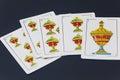 Spanish cards Royalty Free Stock Photo