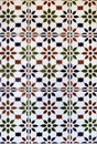 Spanish Ceramic Tiles Stock Photography