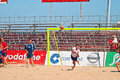Spanish Championship of Beach Soccer , 2005 Stock Photography