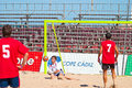 Spanish Championship of Beach Soccer , 2005 Stock Photos